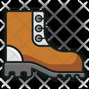 Hiking Shoe Hiking Boots Long Shoe Icon