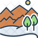 Hill Highlander Mound Icon