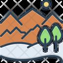 Hill Highlander Mound Icon