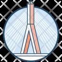 Hill Bridge Icon