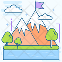 Landscape Scene Nature Icon