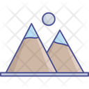 Hill Station Hills Landscape Icon