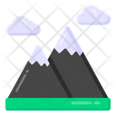 Hilly Place Hill Station Landscape Icon