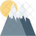 Hills Mountains Scenery Icon