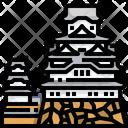 Himeji Castle Japan Landmark Icon