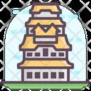 Himeji Castle Japanese Castle Japanse Landmark Icon