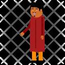 Human Hindu Independence Icon