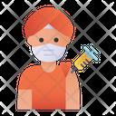 Hindu Doctor Vaccination India Hindu Icon