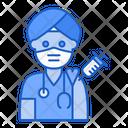 Hindu Doctor Vaccination Hindu Doctor Icon