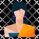 Hindu Woman Avatar Icon
