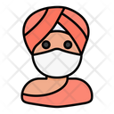 Hindu Avatar Man Icon