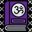 Hindu Spiritual Book Icon
