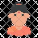 Hindu Indian People Icon