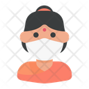 Hindu Avatar Woman Icon
