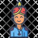 Hindu Woman Woman Indian Icon