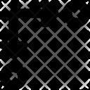 Hint Arrows Increasing Icon