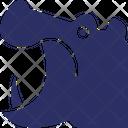 Hippo Zoo Wildlife Icon