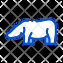 Hippo Safari Travel Icon