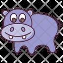 Animal Hippo Wild Animal Icon