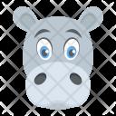 Hippopotamus Animal Wild Icon