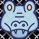 Hippopotamus Wild Animal Hippo Icon