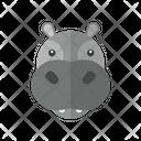 Hippopotamus Animal Hippo Icon