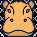Hippopotamus Animal Wild Animal Icon