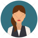 Hipster Woman Avatar Icon