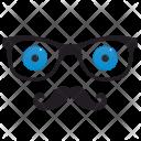 Hipster Optics Eyes Icon