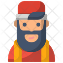 Avatar Barber Hipster Icon