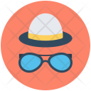 Hipster Mask Sunglasses Icon