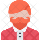 Hipster Man Fashion Icon