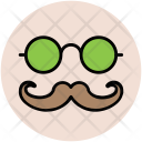 Hipster Face Mask Icon