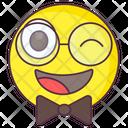 Hipster Emoji Icon