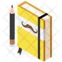 Hobby Notebook Dairy Icon