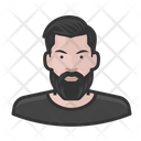Hipster Man Hipster Man Icon