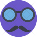 Hipster Mask Glasses Icon