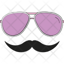Hipster Mask Icon