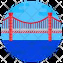 Japanese Bridge Hirado Bridge Footbridge Icon