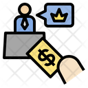 Bribe Position Hire Icon