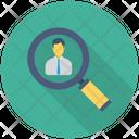 Hiring Recruitment Search Icon