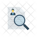 Hiring Job Recruitment Icon