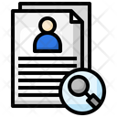 Hiring Candidate Icon
