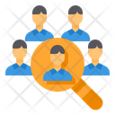 Select Recruit Magnifying Glass Icon