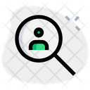 Hiring Employee Employee Search Recruitment Icon