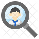 Hiring Employee Research Hiring Icon