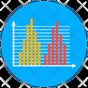 Histogram Statistics Bar Chart Icon