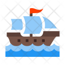 Historic ship Icon