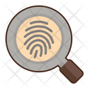 Historical Forensics Find Finger Print Search Fingerprint Icon