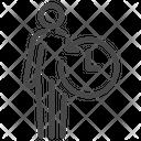 Anti Aging Revert Reverse User Icon